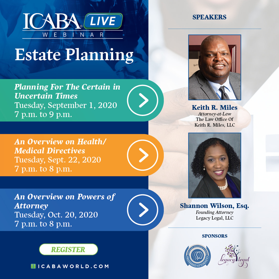 Estate Planning:  An Overview on Health/Medical Directives